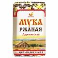 Мука ржаная хлебопекарная обойная  1 кг
