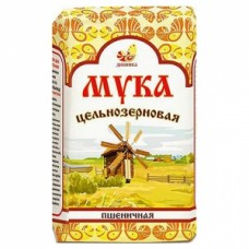 Мука пшеничная хлебопекарная цельнозерновая (обойная) 1 кг