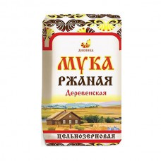 Мука ржаная хлебопекарная обойная, 1 кг