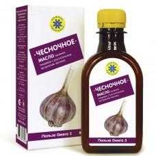 «Чесночное» - масло льняное с экстрактом чеснока 200мл