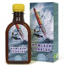 «Мужской Эликсир»200 мл льняное масло с экстрактами трав.